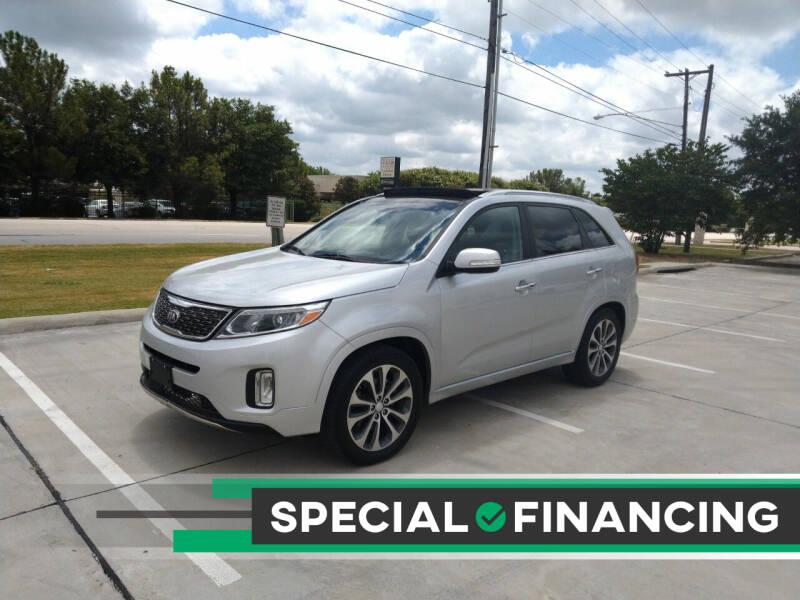 2014 Kia Sorento for sale at Solo Auto Group in Mckinney TX
