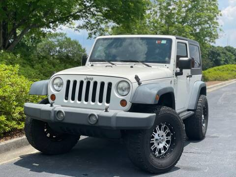 2008 Jeep Wrangler for sale at William D Auto Sales in Norcross GA