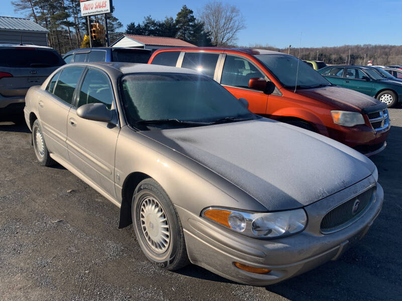 2000 Buick LeSabre for sale at BURNWORTH AUTO INC in Windber PA