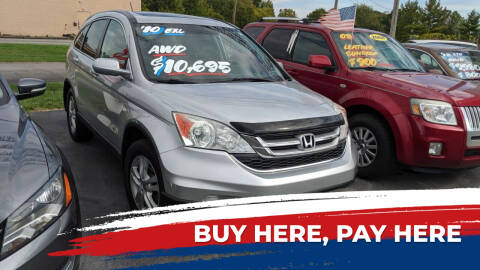2010 Honda CR-V for sale at Newport Auto Group Boardman in Boardman OH