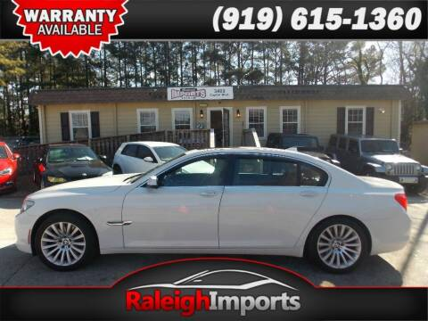 2012 BMW 7 Series for sale at Raleigh Imports in Raleigh NC