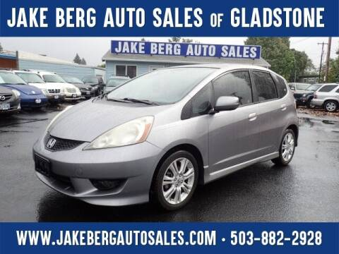 2009 Honda Fit for sale at Jake Berg Auto Sales in Gladstone OR