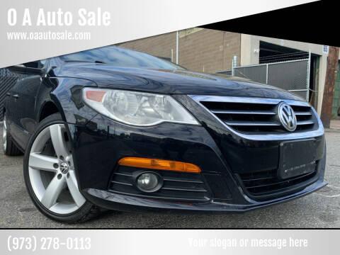 2011 Volkswagen CC for sale at O A Auto Sale - O & A Auto Sale in Paterson NJ