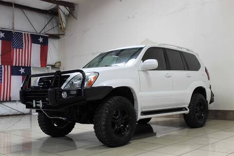 2006 Lexus GX 470 for sale at ROADSTERS AUTO in Houston TX