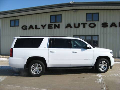 2019 Chevrolet Suburban for sale at Galyen Auto Sales Inc. in Atkinson NE
