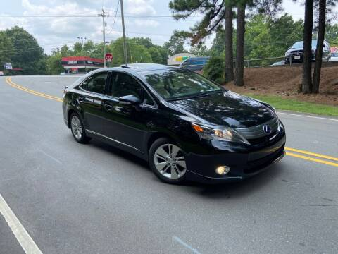 2010 Lexus HS 250h for sale at THE AUTO FINDERS in Durham NC