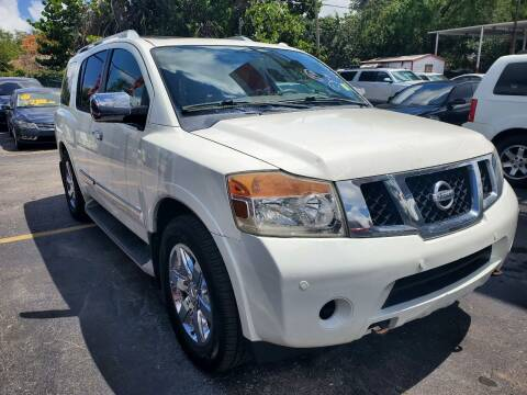 2011 Nissan Armada for sale at America Auto Wholesale Inc in Miami FL