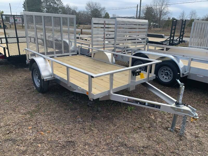 2021 New Carry-On 5.5x10 Aluminum UtilityTrailer for sale at Tripp Auto & Cycle Sales Inc in Grimesland NC