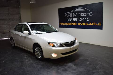 2009 Subaru Impreza for sale at ARI Motors in Houston TX