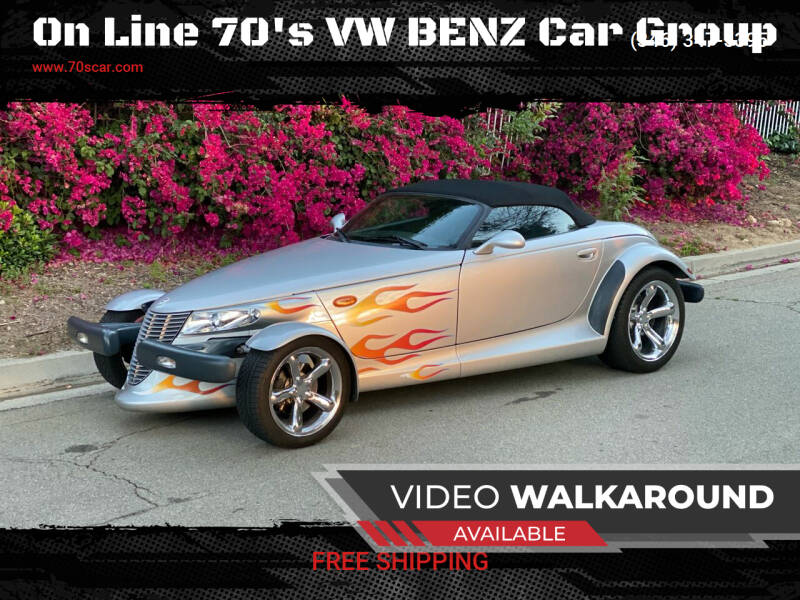 2000 Plymouth Prowler for sale at OnLine VW-BENZ.COM Auto Group in Riverside CA