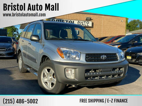 2002 Toyota RAV4 for sale at Bristol Auto Mall in Levittown PA