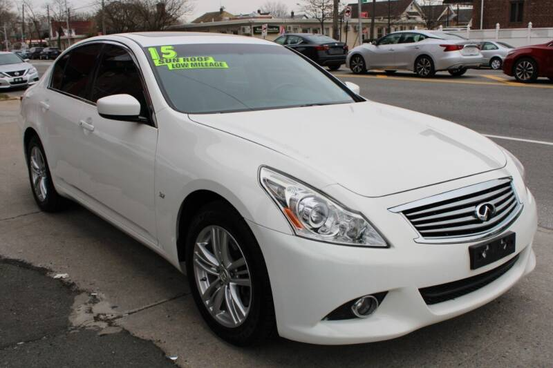 2015 Infiniti Q40 for sale at LIBERTY AUTOLAND INC in Jamaica NY