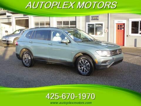 2020 Volkswagen Tiguan for sale at Autoplex Motors in Lynnwood WA