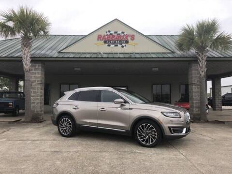 2019 Lincoln Nautilus for sale at Rabeaux's Auto Sales in Lafayette LA