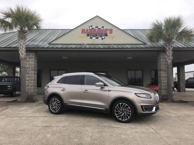 2019 Lincoln Nautilus for sale at Rabeaux's Auto Sales in Lafayette LA