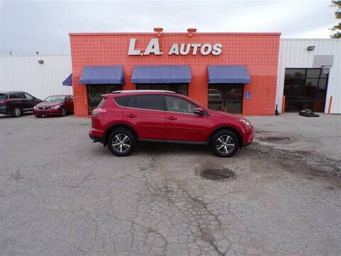 2017 Toyota RAV4 for sale at L A AUTOS in Omaha NE