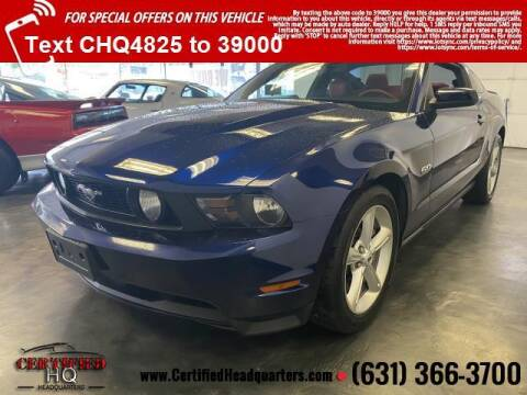 2011 Ford Mustang for sale at CERTIFIED HEADQUARTERS in St James NY