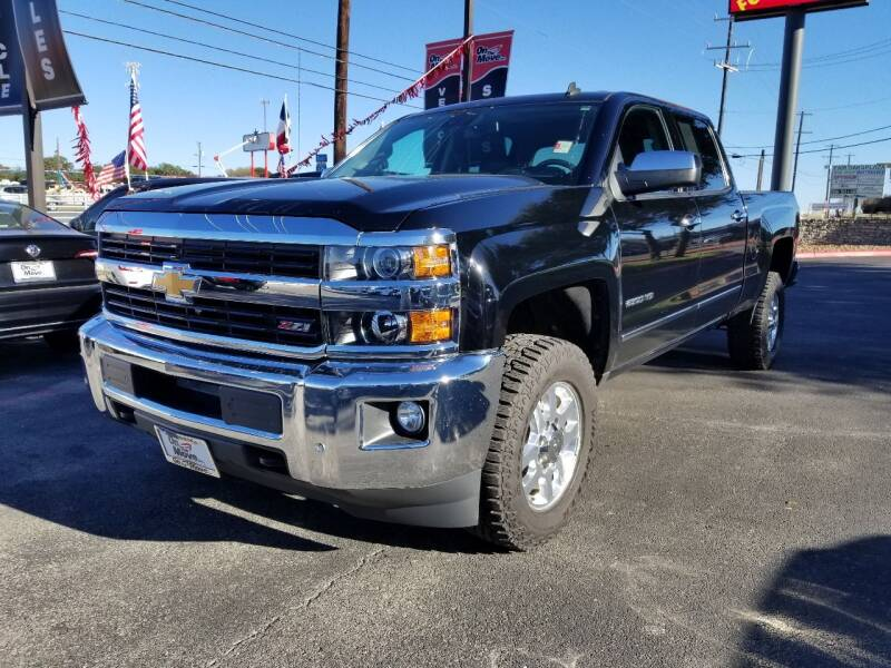 2015 Chevrolet Silverado 2500HD for sale at ON THE MOVE INC in Boerne TX
