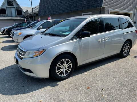 2012 Honda Odyssey for sale at JK & Sons Auto Sales in Westport MA