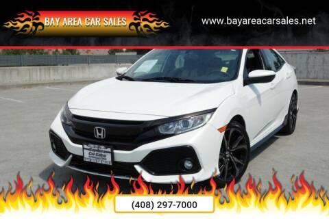 2017 Honda Civic for sale at BAY AREA CAR SALES 2 in San Jose CA