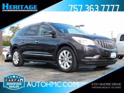2015 Buick Enclave for sale at Heritage Motor Company in Virginia Beach VA