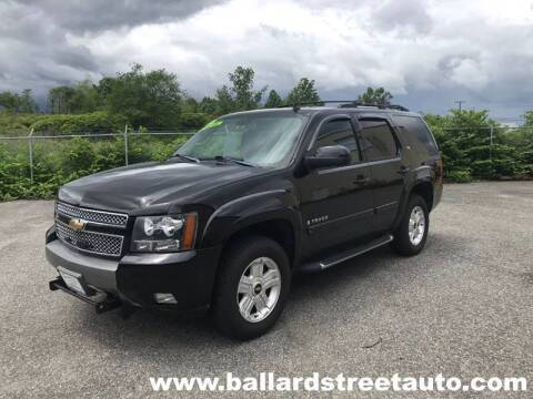 2009 Chevrolet Tahoe for sale at Ballard Street Auto in Saugus MA