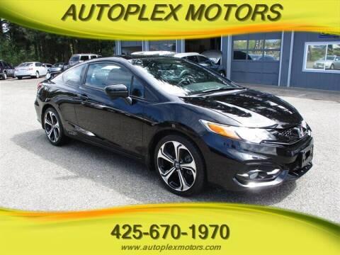 2015 Honda Civic for sale at Autoplex Motors in Lynnwood WA