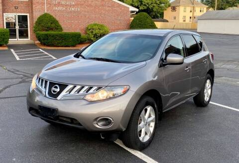 2010 Nissan Murano for sale at New England Cars in Attleboro MA