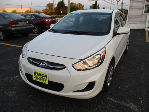 2017 Hyundai Accent for sale at Ringa Auto Sales in Arlington Heights IL