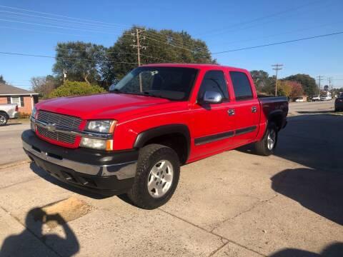 2005 Chevrolet Silverado 1500 for sale at E Motors LLC in Anderson SC