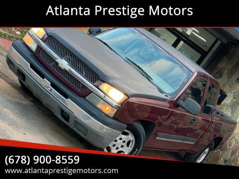 2003 Chevrolet Silverado 1500 for sale at Atlanta Prestige Motors in Decatur GA