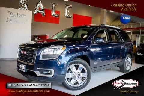 2017 GMC Acadia Limited for sale at Quality Auto Center of Springfield in Springfield NJ