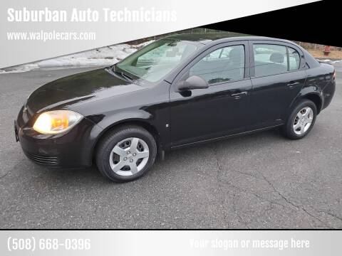 2007 Chevrolet Cobalt for sale at Suburban Auto Technicians in Walpole MA