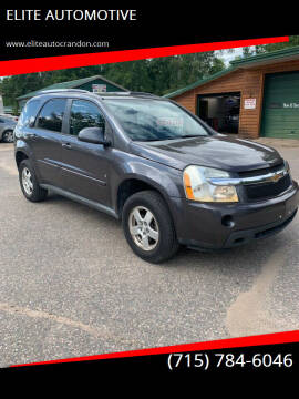 2007 Chevrolet Equinox for sale at ELITE AUTOMOTIVE in Crandon WI