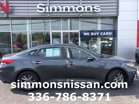 2019 Kia Optima for sale at SIMMONS NISSAN INC in Mount Airy NC