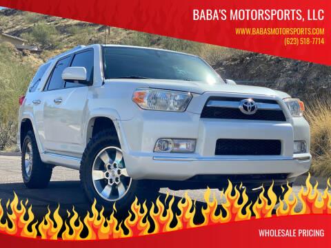 2011 Toyota 4Runner for sale at Baba's Motorsports, LLC in Phoenix AZ