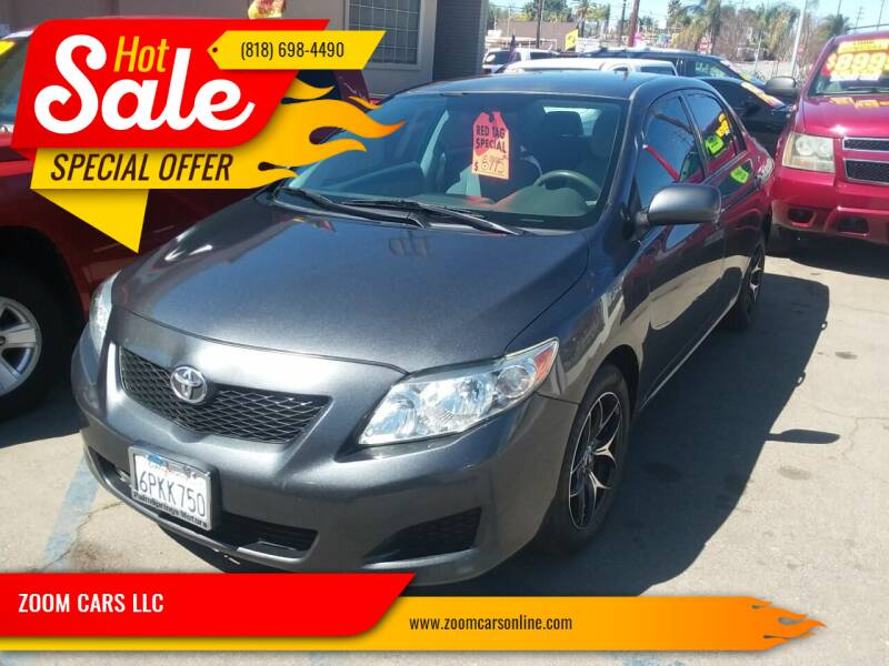 2010 Toyota Corolla for sale at ZOOM CARS LLC in Sylmar CA