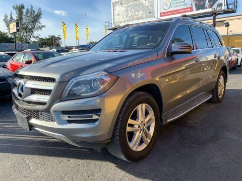 2014 Mercedes-Benz GL-Class for sale at AUTO ALLIANCE LLC in Miami FL
