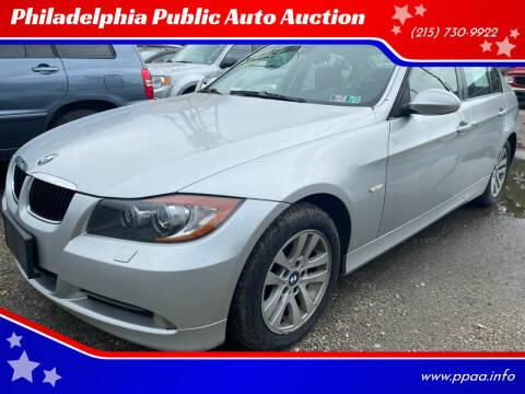 2007 BMW 3 Series for sale at Philadelphia Public Auto Auction in Philadelphia PA
