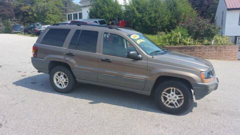 2002 Jeep Grand Cherokee for sale at Shamrock Auto Brokers, LLC in Belmont NH