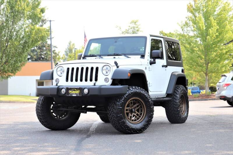 2015 Jeep Wrangler for sale in Portland, OR