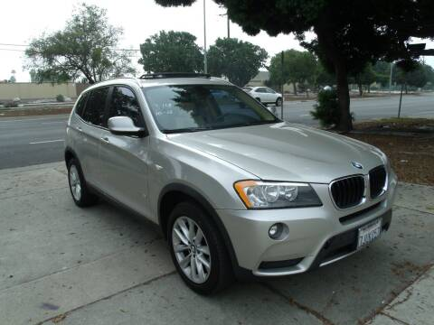 2013 BMW X3 for sale at Hollywood Auto Brokers in Los Angeles CA