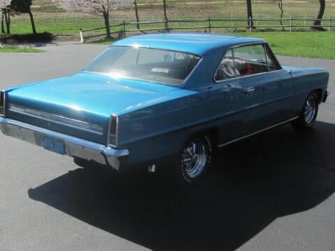 1966 Chevrolet Nova for sale at Hines Auto Sales in Marlette MI