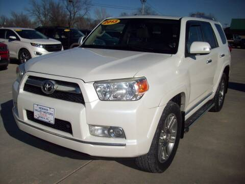 2013 Toyota 4Runner for sale at Nemaha Valley Motors in Seneca KS
