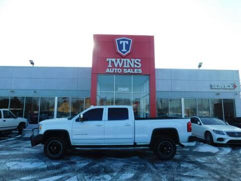 2017 GMC Sierra 2500HD for sale at Twins Auto Sales Inc Redford 1 in Redford MI