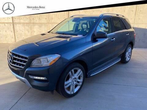 2013 Mercedes-Benz M-Class for sale at Stephen Wade Pre-Owned Supercenter in Saint George UT