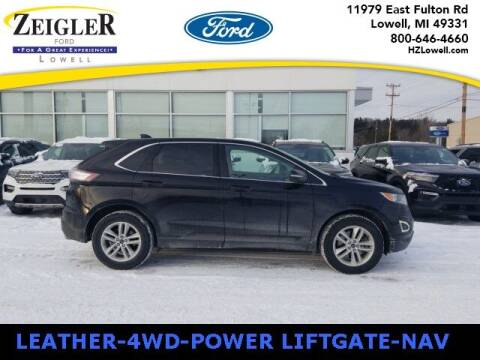 2018 Ford Edge for sale at Zeigler Ford of Plainwell- Jeff Bishop in Plainwell MI