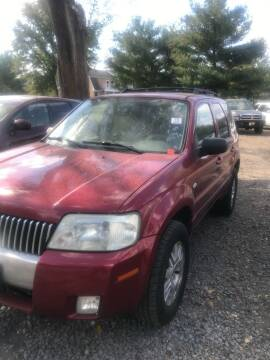 2006 Mercury Mariner for sale at PREOWNED CAR STORE in Bunker Hill WV