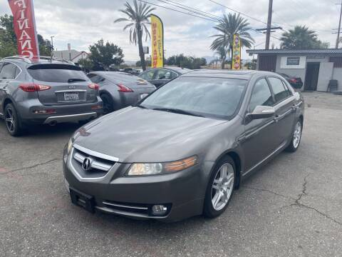 2008 Acura TL for sale at AutoHaus in Colton CA
