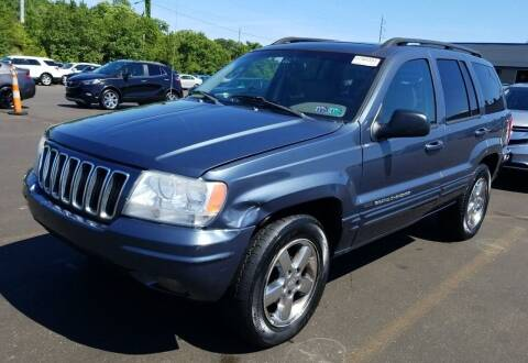2003 Jeep Grand Cherokee for sale at Angelo's Auto Sales in Lowellville OH